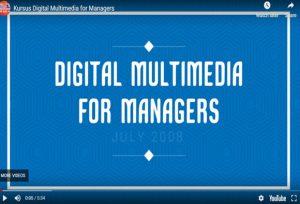 Kursus Digital Multimedia for Managers