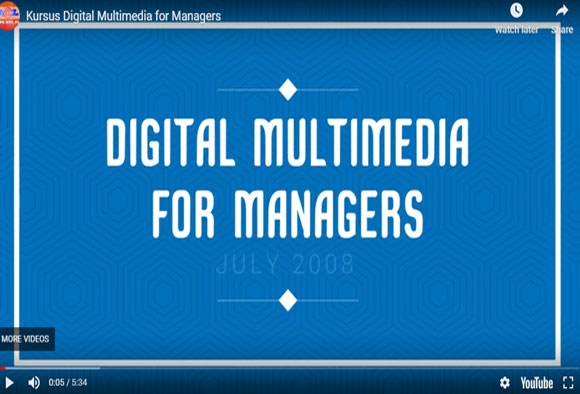 Kursus Digital Multimedia for Managers