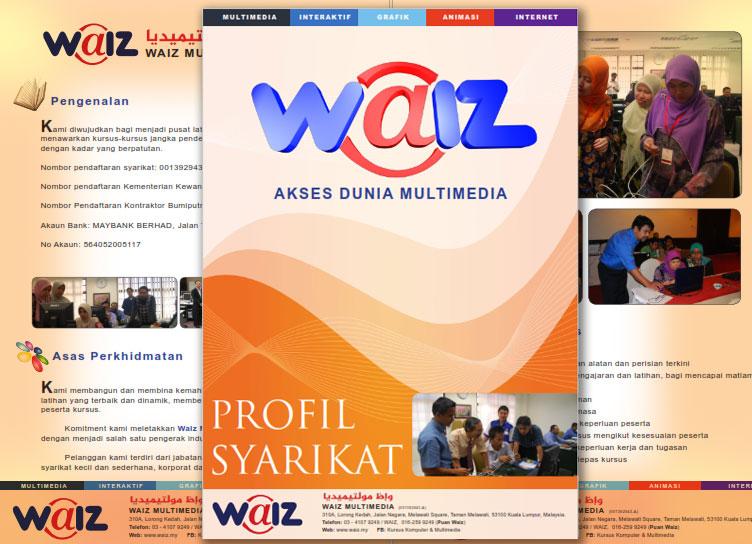 Profil Syarikat - Waiz Multimedia